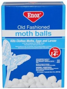 Moth Balls Keep Mice Away